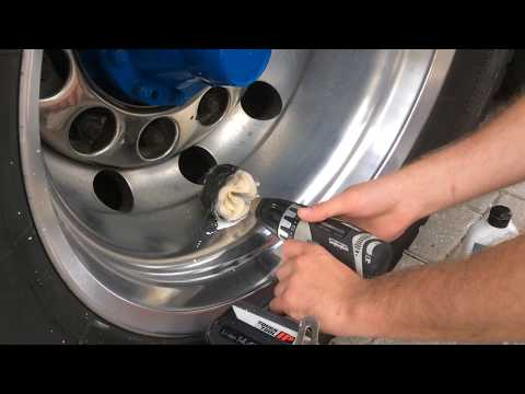 Great Lion Ultra Cotton Ball, how to polish your alcoa rims