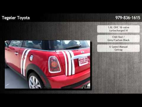 2009 Mini Cooper Coupe S College Station Youtube