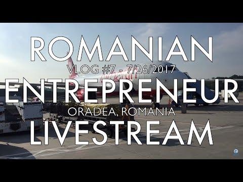 Documentary Filmmaking on Entrepreneurship in Romania - VLOG 07 (Oradea, Romania) 📸