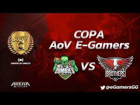 Copa AoV eGamers - ZOMBIES ESPORTS VS BROTHERS ELITE (Arena of Valor Competitivo)