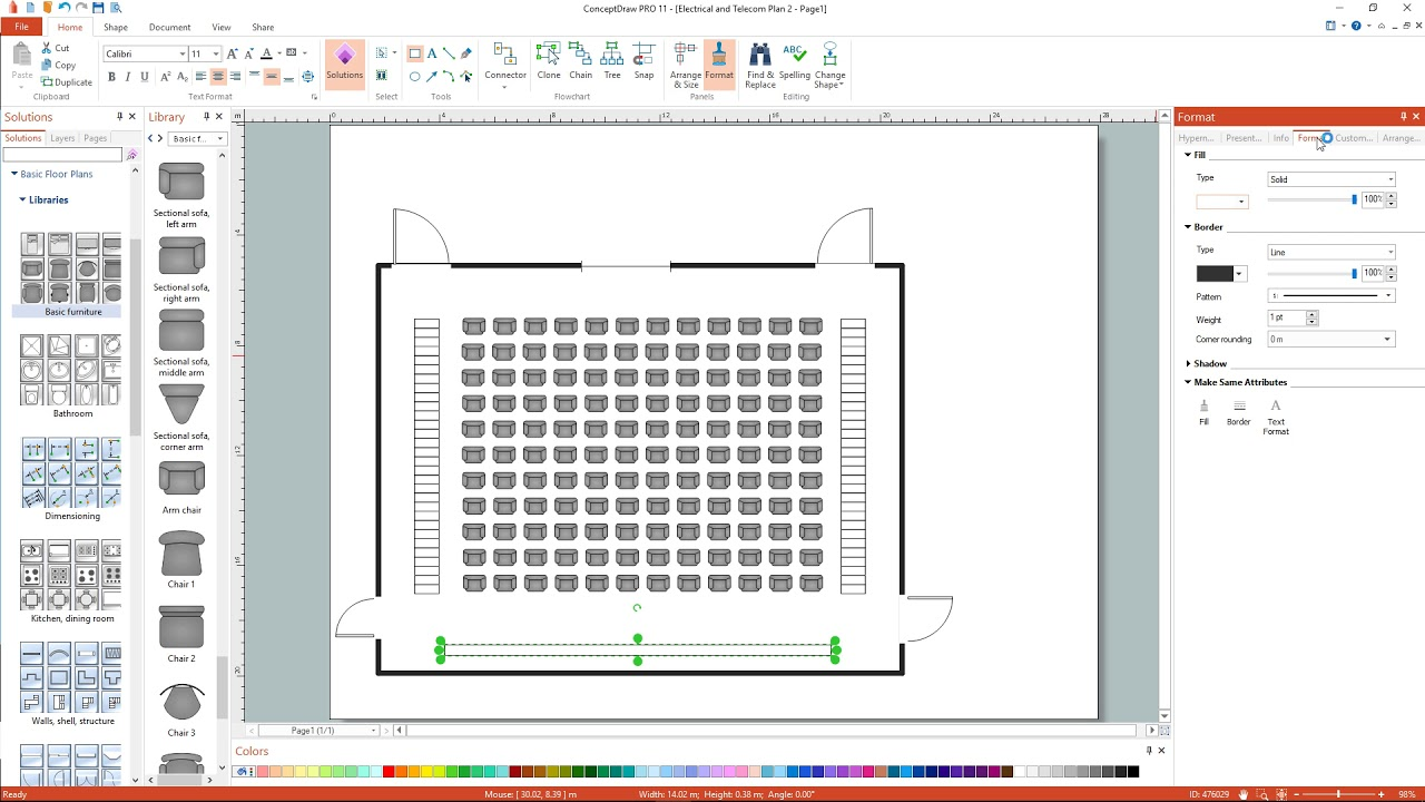 medium resolution of how to draw an electrical and telecom floor plan