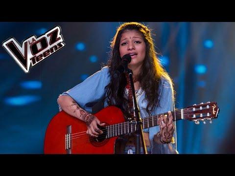 Ananya canta 'Me cuesta tanto olvidarte'   Audiciones a ciegas   La Voz Teens Colombia 2016