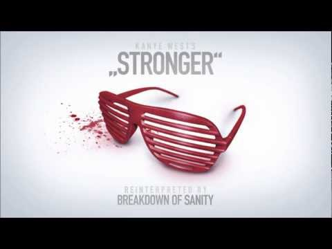 Клип Breakdown Of Sanity - Stronger (Kanye West Cover)