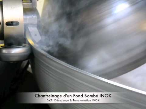 chanfreinage fond bomb inox dvai dished head youtube. Black Bedroom Furniture Sets. Home Design Ideas