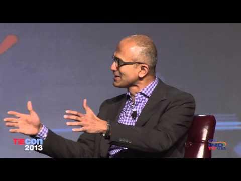 TiEcon 2013 AM Keynote with Satya Nadella, President of Microsoft ...