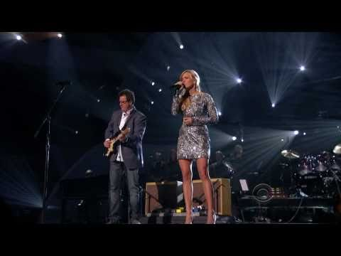 """true HD Carrie Underwood & Vince Gill duet """"How Great Thou Art"""" ACM Girls' Night Out"""