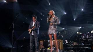 "true HD Carrie Underwood & Vince Gill duet ""How Great Thou Art"" ACM Girls"