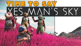 No Man's Sky Evolves Into YES MAN'S SKY!?