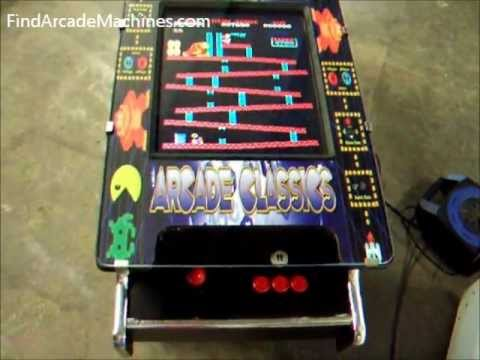 retro tabletop arcade machine