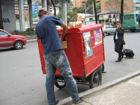 Bicycles for business in Bogotá