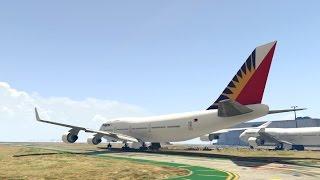 GTA V - Simple Philippine Airline, Cebu Pacific, Zest Air & Air Asia Textures 0.1