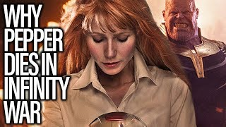 Why Pepper Potts Will Die In Avengers Infinity War