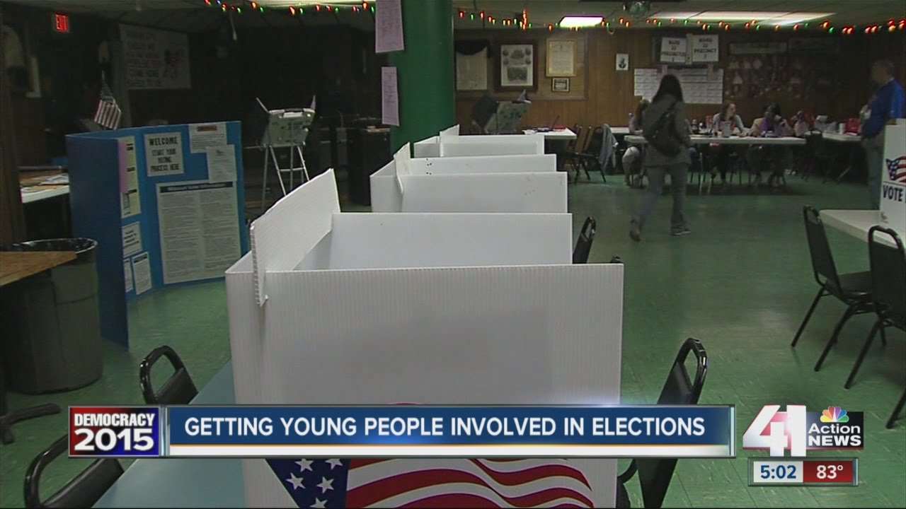 How do we get young people involved in elections?