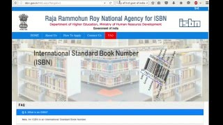 How to Apply for an ISBN in India- A How To Guide for Self Published Authors and Publishers