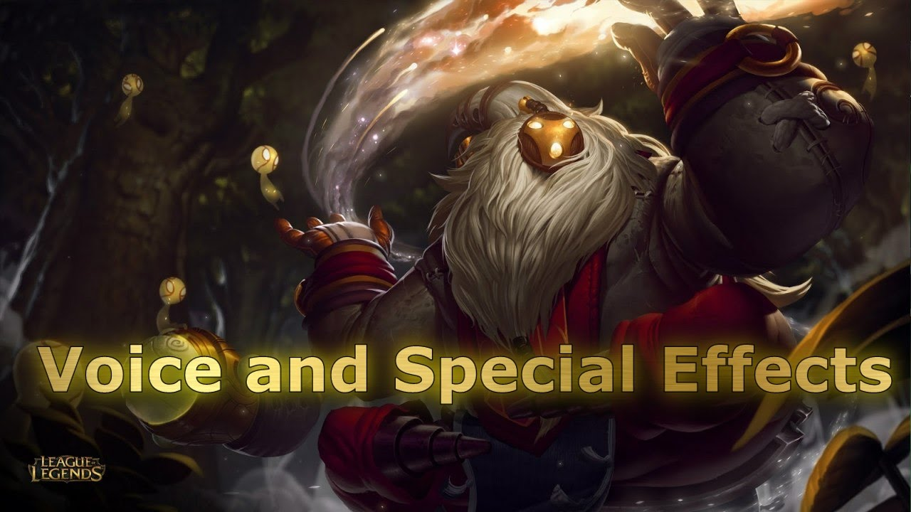 Bard Voice and Special Sound Effects (SFX) The Wandering Caretaker - League  of Legends