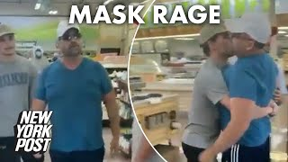 Anti-mask rant in Arizona store caught on video gets out of hand | New York Post