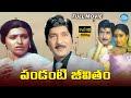 Pandanti Jeevitham Full Movie | Sobhan Babu, Vijayashanti | Tatineni Rama Rao | Chakravarthy