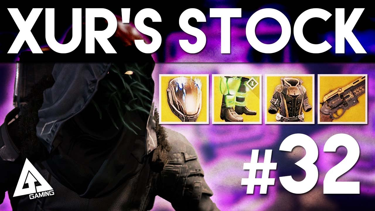 Destiny xur location week 32 new exotic armour and weapons april