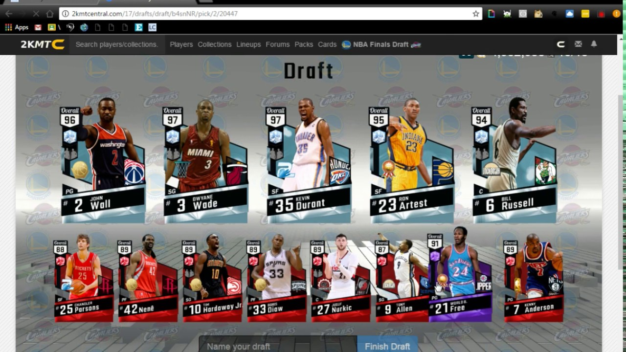 2kmtcentral Finals Draft