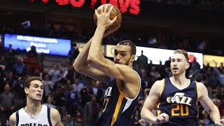 Seth Curry Clutch 3! Rudy Gobert 27 Pts 25 Rebs OT Thriller! Jazz vs Mavericks