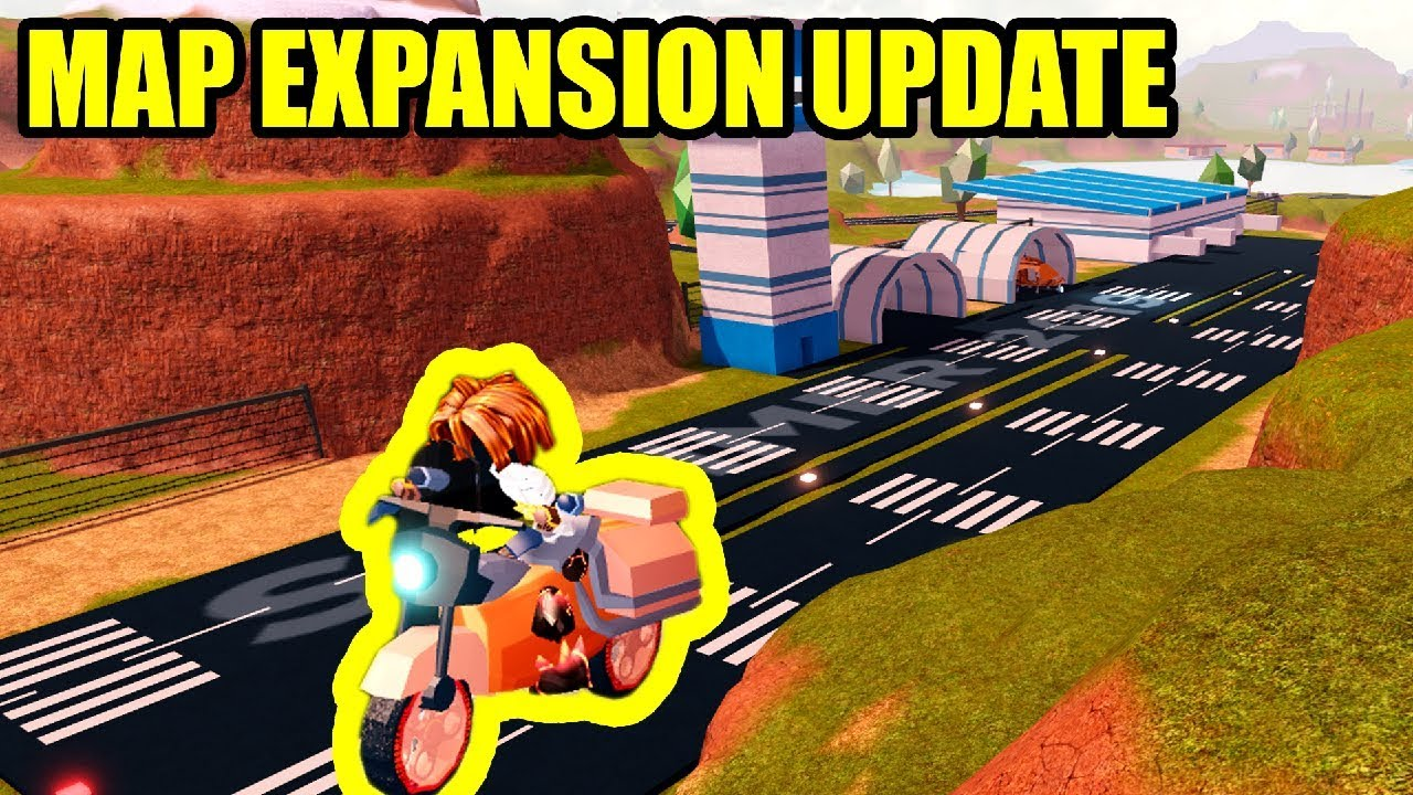 Roblox Jailbreak Map Additions Full Guide New Map Expansion Update Is Here Roblox Jailbreak Youtube