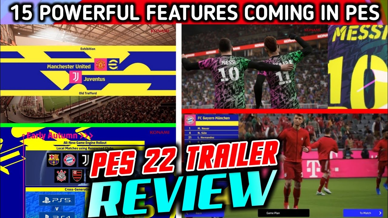 15 Amazing Changes In Pes 22 Mobile / PC / Consoles