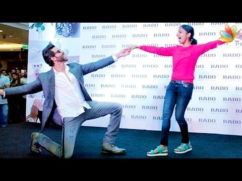 Hrithik Roshan Dances With A Mallu Girl In Kochi | Kaabil Kerala Promotion
