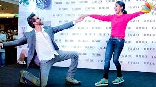 hrithik roshan dances with a mallu girl in kochi   kaabil kerala promotion