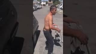 Video Köpekle Kavga Eden İnsan - komik  MANİSA/SALİHLİ download MP3, 3GP, MP4, WEBM, AVI, FLV Desember 2017
