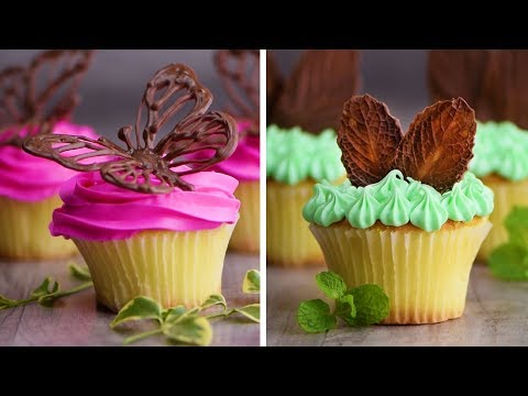 Chocolate Cakes and Cupcakes Decorating Techniques | Yummy Dessert Recipes by So Yummy