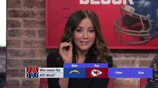 Who owns the AFC West? | Chiefs | Oakland Raiders | NFL news 2018