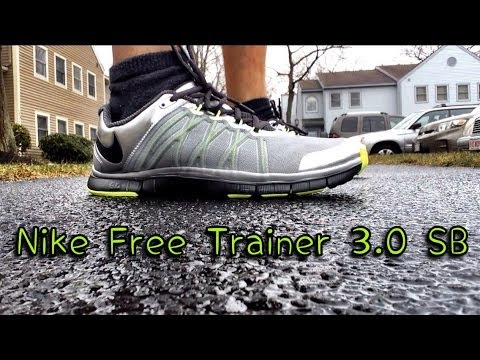 nike free trainer 3 0 sb review on feet youtube. Black Bedroom Furniture Sets. Home Design Ideas