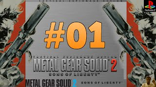 Metal Gear Solid 2: Sons of Liberty Part 1 PS2 Gameplay