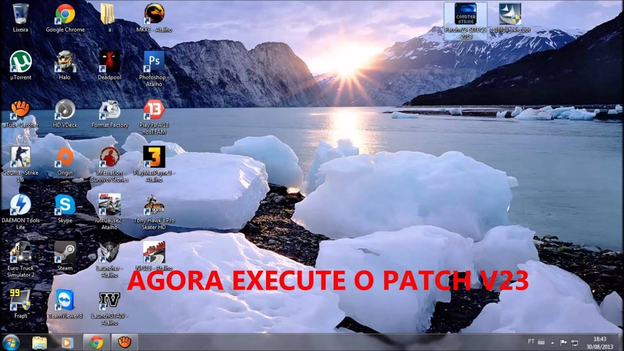 o patch v23 para cs 1.6