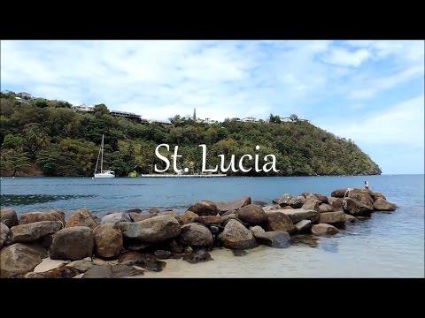TRAVEL VLOG | ST. LUCIA | HONEYMOONING