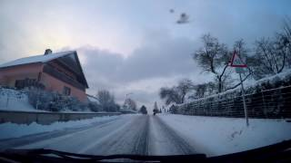 Германия/Cнежный Апокалипсис/Пятница 13ое/  Зима в Германии(Всем привет, в этом ролике вы увидите , так называемый в Германии снежный апокалипсис который был в Германии..., 2017-01-14T22:45:48.000Z)