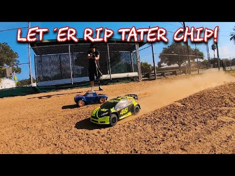 RC Traxxas Ford Fiesta VR46 (Mod 3s Brushless) & Axial Yeti SCORE Trophy Truck 1/10  OMGRC