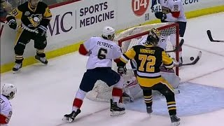 Gotta See It: Kessel floats puck over net, Hornqvist bats it out of air and in
