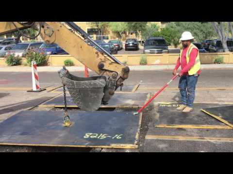 Safely Move Road Plate And Trench Plate