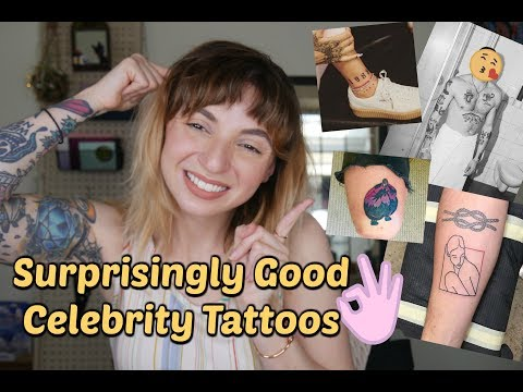 Surprisingly Good Celebrity Tattoos and their Stories