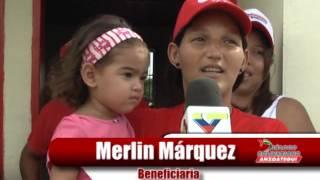 145 familias de Anzoátegui recibieron sus casas dignas gracias a la revolución
