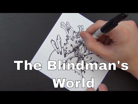 The Blindman's World ~ Edward Bellamy (Audiobook & Realtime Drawing)