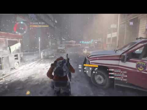 The Division playing on Japanese servers with Japanese people