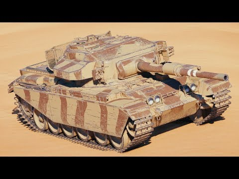 World of Tanks Centurion Mk. 7/1 - 8 Kills 8,3K Damage thumbnail