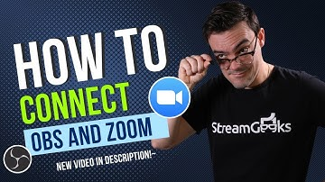 How to Connect Zoom & OBS - The Right Way!