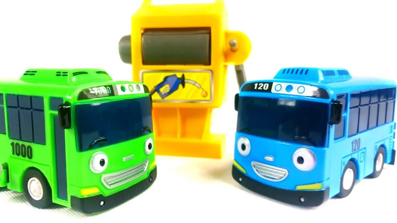 Игрушечные Супер Истории - Тайо маленький автобус - Учим ...