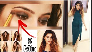 No Joke!!! Easy Smokey Eyes in 2 Steps | Easy Glam Look For Beginners | Super Style Tips