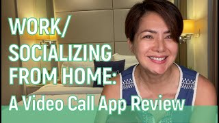 WORK or SOCIALIZE FROM HOME: A Video Conferencing Software Review // Alice Dixson