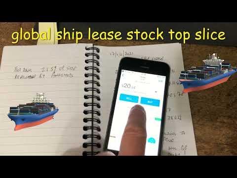 global ship lease stock top slice