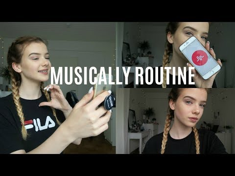 Musically Routine // Melina Celine